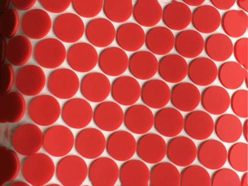 3M红色硅胶垫